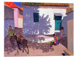 Cuadro de PVC  Green Door and Shadows, Lesbos, 1996 - Andrew Macara