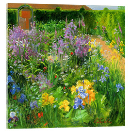 Cuadro de metacrilato  Flower garden - Timothy Easton