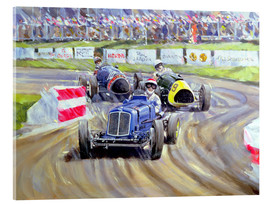 Cuadro de metacrilato  The First Race at the Goodwood Revival, 1998 - Clive Metcalfe