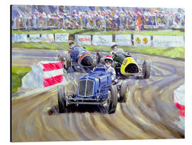 Cuadro de aluminio  The First Race at the Goodwood Revival, 1998 - Clive Metcalfe