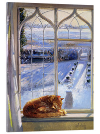 Metacrilato  Cat in the Window - Timothy Easton