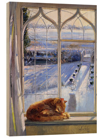 Madera  Cat in the Window - Timothy Easton