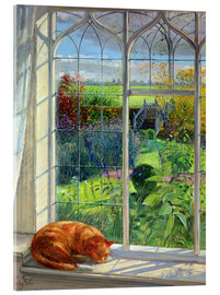 Metacrilato  Cat in the Window, Summer - Timothy Easton