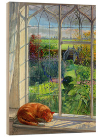 Madera  Cat in the Window, Summer - Timothy Easton