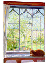 Metacrilato  Cat in window in spring - Timothy Easton
