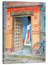 Lienzo  In the Old Town, Bhuj - Lucy Willis