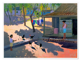Póster  Hens and Chickens, Cuba, 1997 - Andrew Macara