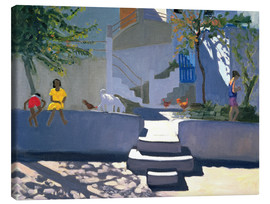 Lienzo  The Yellow Dress, Kos - Andrew Macara