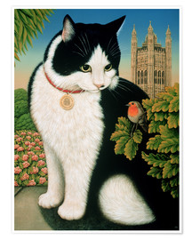 Póster  Humphrey, the cat - Frances Broomfield
