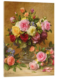 Cuadro de metacrilato  Victorian Roses - Albert Williams