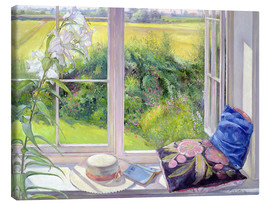 Lienzo  Reading window seat - Timothy Easton