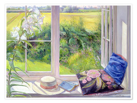 Póster  Reading window seat - Timothy Easton