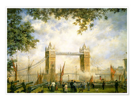 Póster  Tower Bridge: From the Tower of London - Richard Willis
