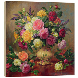 Madera  Roses from a Victorian Garden - Albert Williams