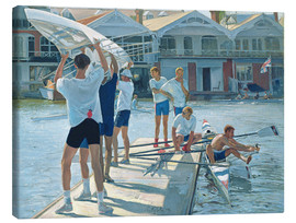 Lienzo  Preparation for rowing - Timothy Easton
