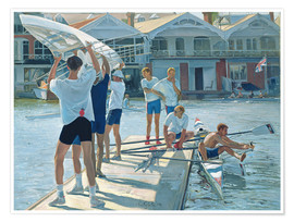 Póster  Preparation for rowing - Timothy Easton