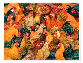 Póster Chickens