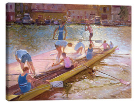 Lienzo  When rowing - Timothy Easton