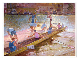 Póster  When rowing - Timothy Easton