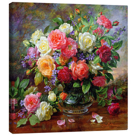 Lienzo  Roses - The Perfection of Summer - Albert Williams