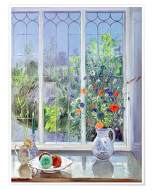 Póster  Still life in the window - Timothy Easton