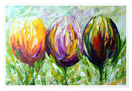 Póster Tulips