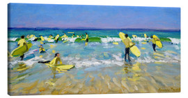 Lienzo  Surf School at St. Ives - Andrew Macara