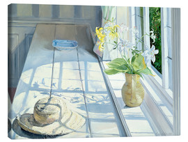 Lienzo  Still life in front of the window - Timothy Easton
