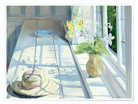 Póster  Still life in front of the window - Timothy Easton