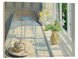 Cuadro de madera  Still life in front of the window - Timothy Easton