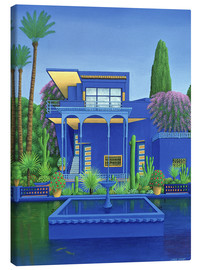 Lienzo  Jardín Majorelle, Marrakech - Larry Smart