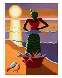 Póster  Fish Wife, 2009 - Tilly Willis