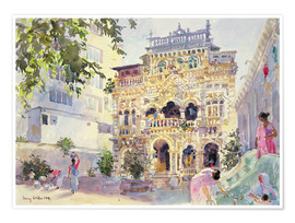 Póster  House on the Hill, Bombay - Lucy Willis