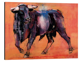 Aluminio-Dibond  Black bull - Mark Adlington