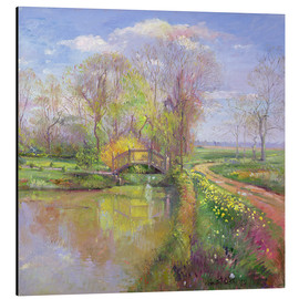 Cuadro de aluminio  Bridge in Spring - Timothy Easton