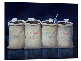 Cuadro de metacrilato  Coffee Sacks, 1990 - Lincoln Seligman
