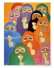 Póster  The Impossible Dream, 1988 - Laila Shawa