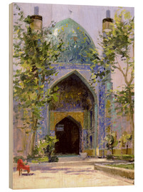 Cuadro de madera  Chanbagh Madrasses, Isfahan - Bob Brown