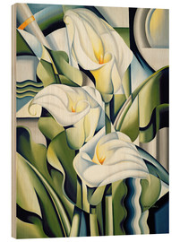 Madera  Cubist lilies - Catherine Abel