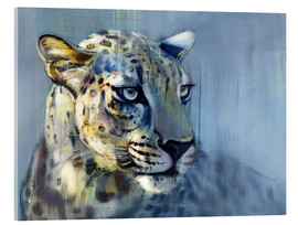 Cuadro de metacrilato  Leopard, Profile - Mark Adlington