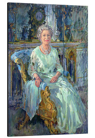 Cuadro de aluminio  Her Majesty the Queen, 1996 - Susan Ryder