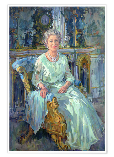 Póster Her Majesty the Queen, 1996