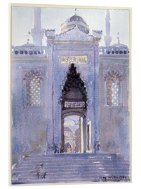 Cuadro de metacrilato  Gateway to The Blue Mosque - Lucy Willis