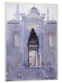Cuadro de PVC  Gateway to The Blue Mosque - Lucy Willis