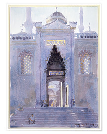 Póster  Gateway to The Blue Mosque - Lucy Willis