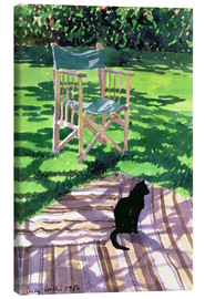 Lienzo  Black Cat and Dappling - Lucy Willis