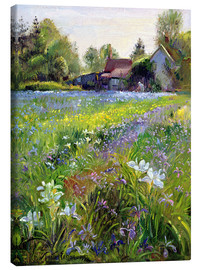 Lienzo  Cottage in the country - Timothy Easton