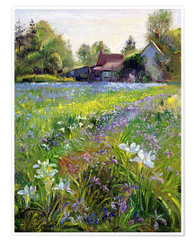 Póster  Cottage in the country - Timothy Easton