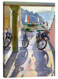 Lienzo  Wheels and Sails - Timothy Easton