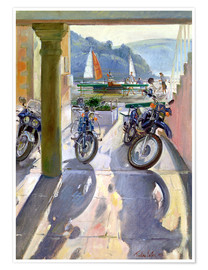 Póster  Wheels and Sails - Timothy Easton